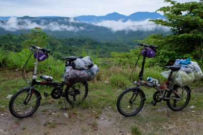 touring with folding bikes