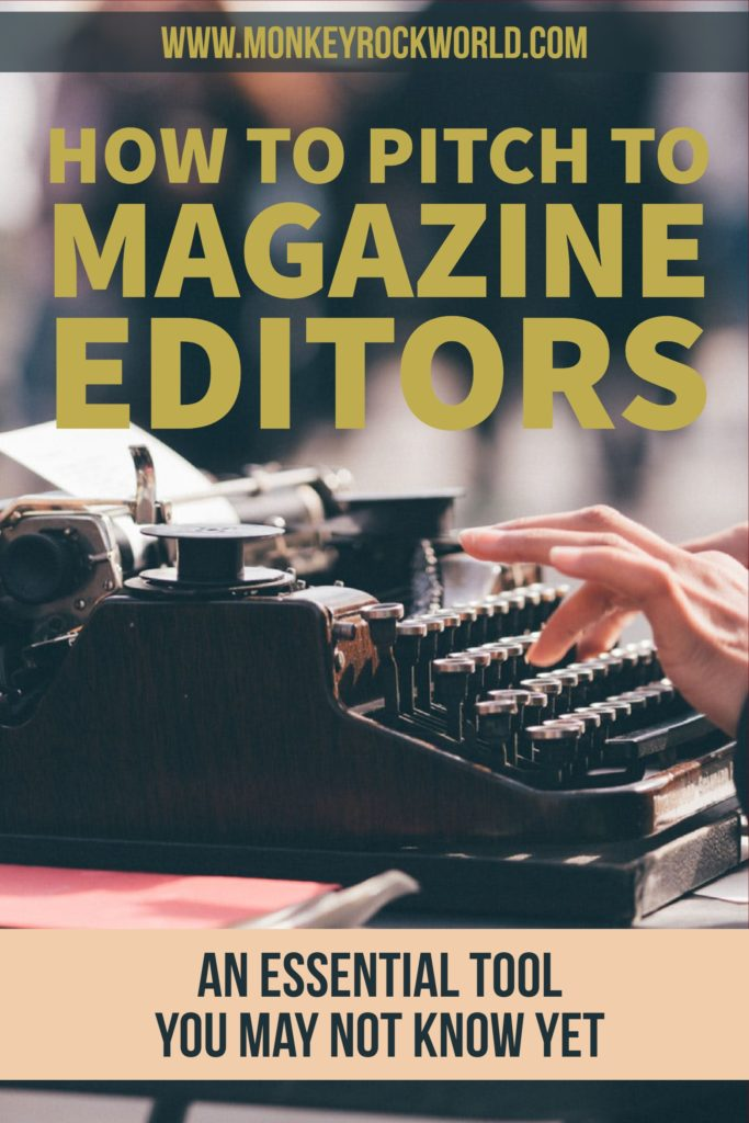 how to pitch to magazine editors