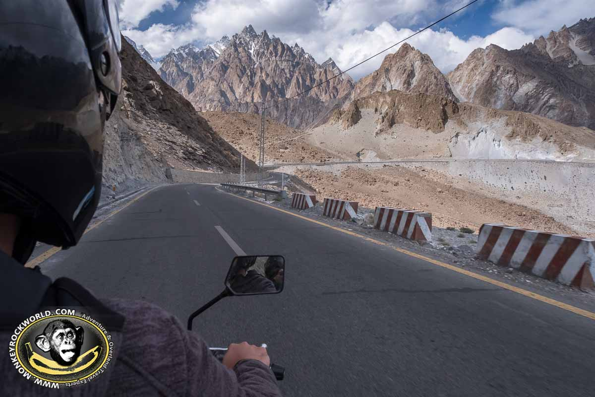 Karakoram Highway tour on motorbike