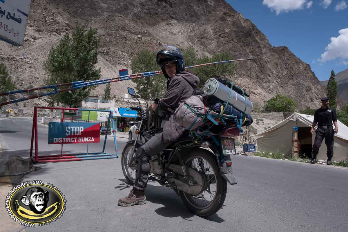 Karakoram Highway tour by motorbike