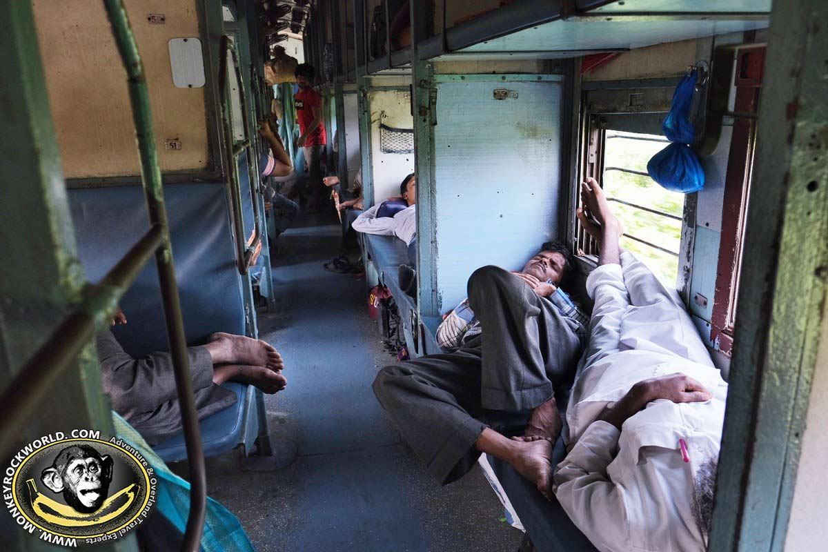 Sleeper class India train