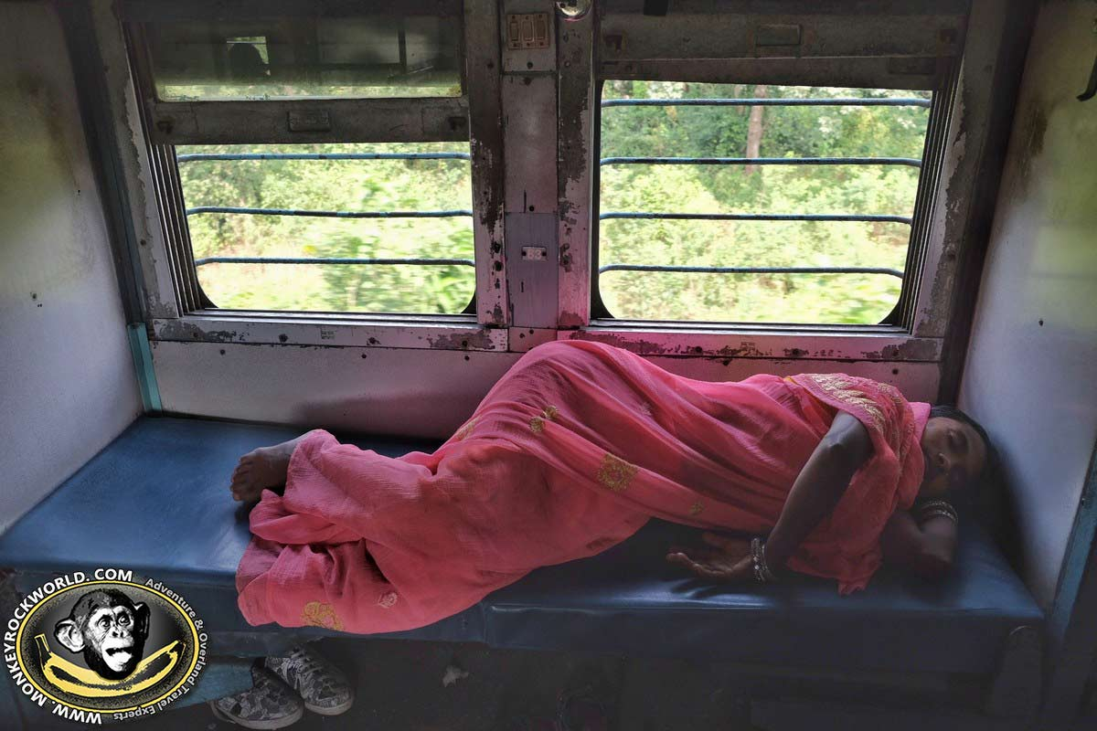 sleeper train in India