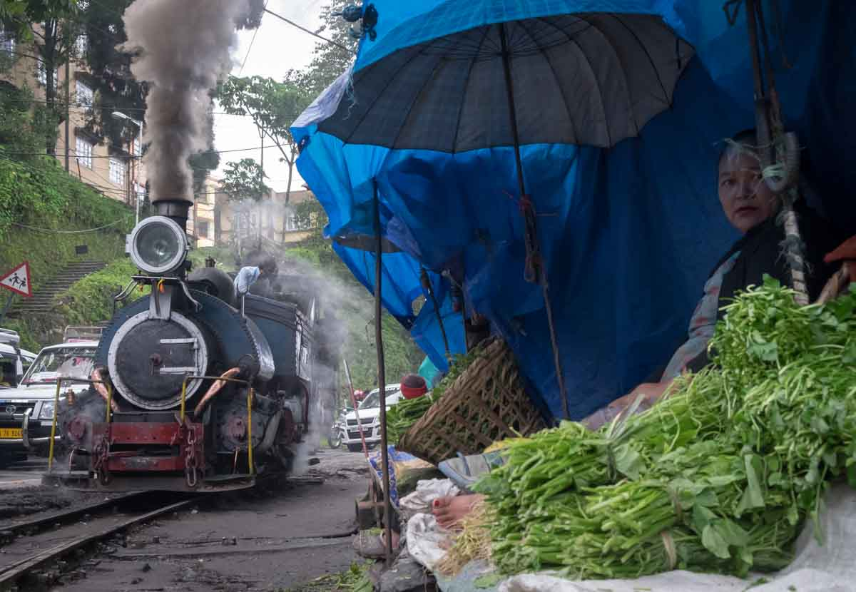 Darjeeling hill station in north india