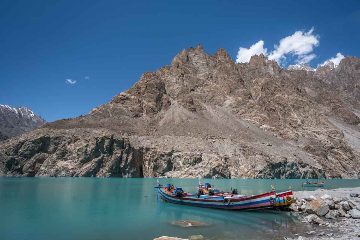 hunza valley tour motorbike attabad lake