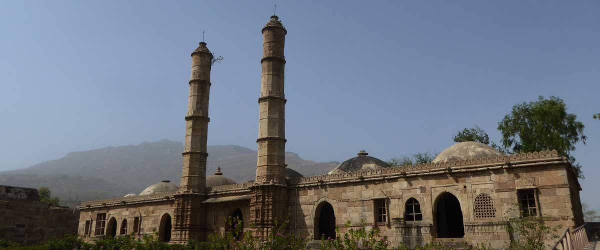 Unexplored places in India Champaner_Pavagadh