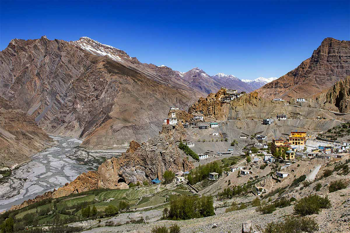 unexplored places in India Dhankar Spiti