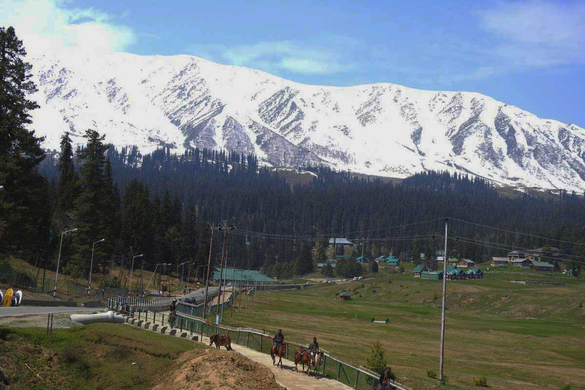 unexplored places in India Gulmarg