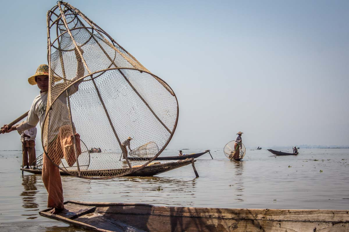 worst places to visit in southeast asia Inle Lake Myanmar