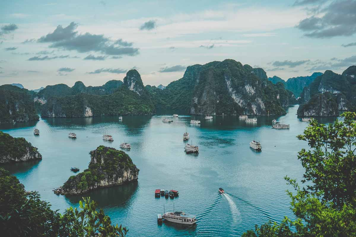 worst places to visit in southeast asia ha long bay vietnam