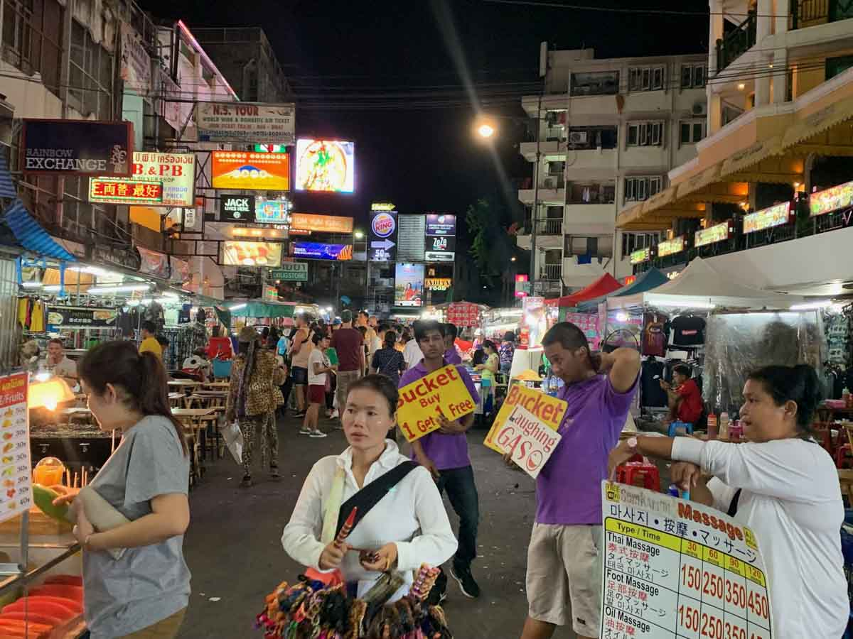 worst places to visit in southeast asia bangkok khao san road