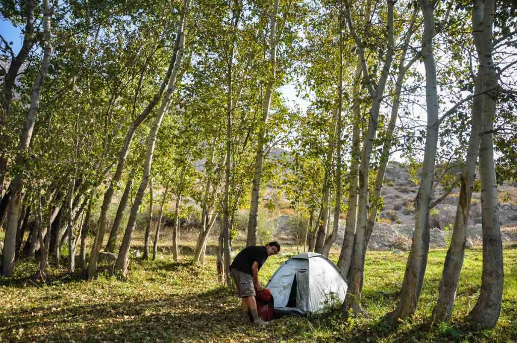 camping tips for beginners pitching a tent